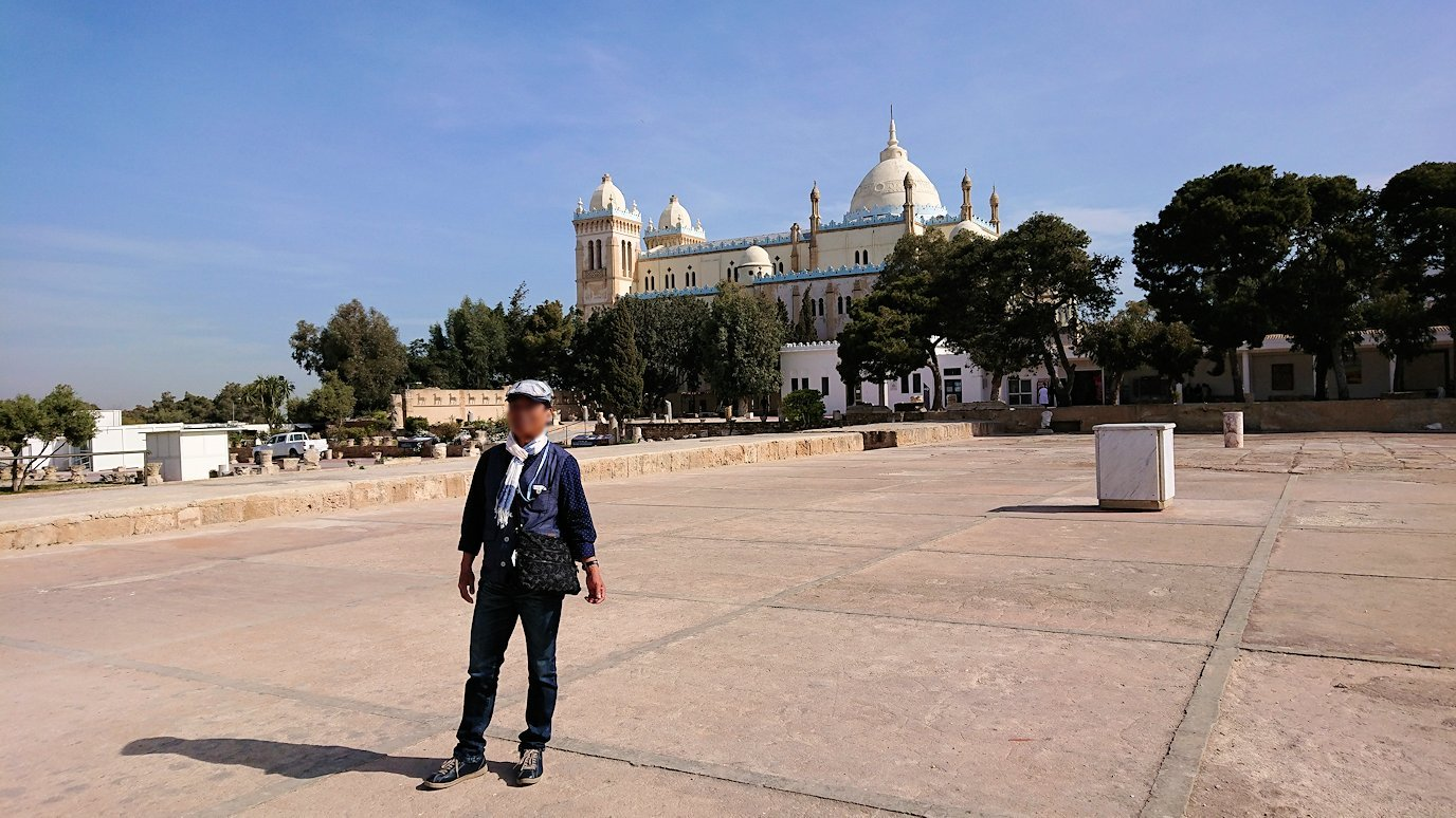 チュニジア:カルタゴ遺跡のビュルサの丘で見学4
