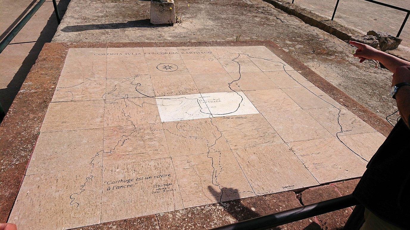 チュニジア:カルタゴ遺跡のビュルサの丘を堪能する1