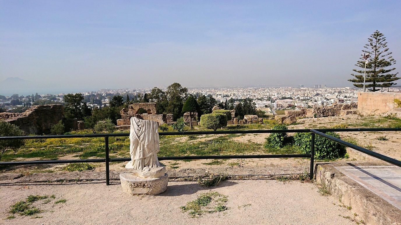 チュニジア:カルタゴ遺跡のビュルサの丘を堪能する3