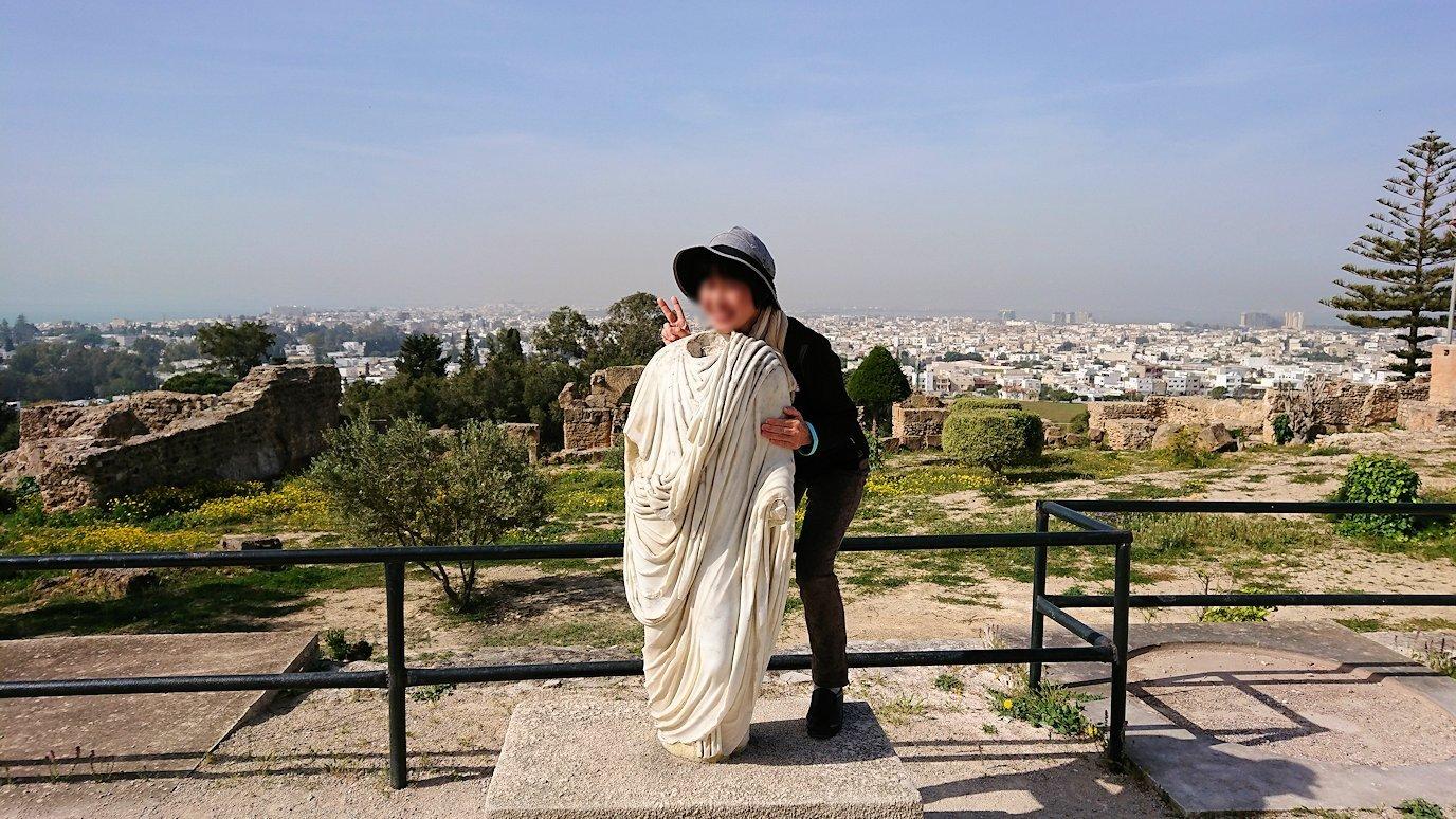 チュニジア:カルタゴ遺跡のビュルサの丘を堪能する5