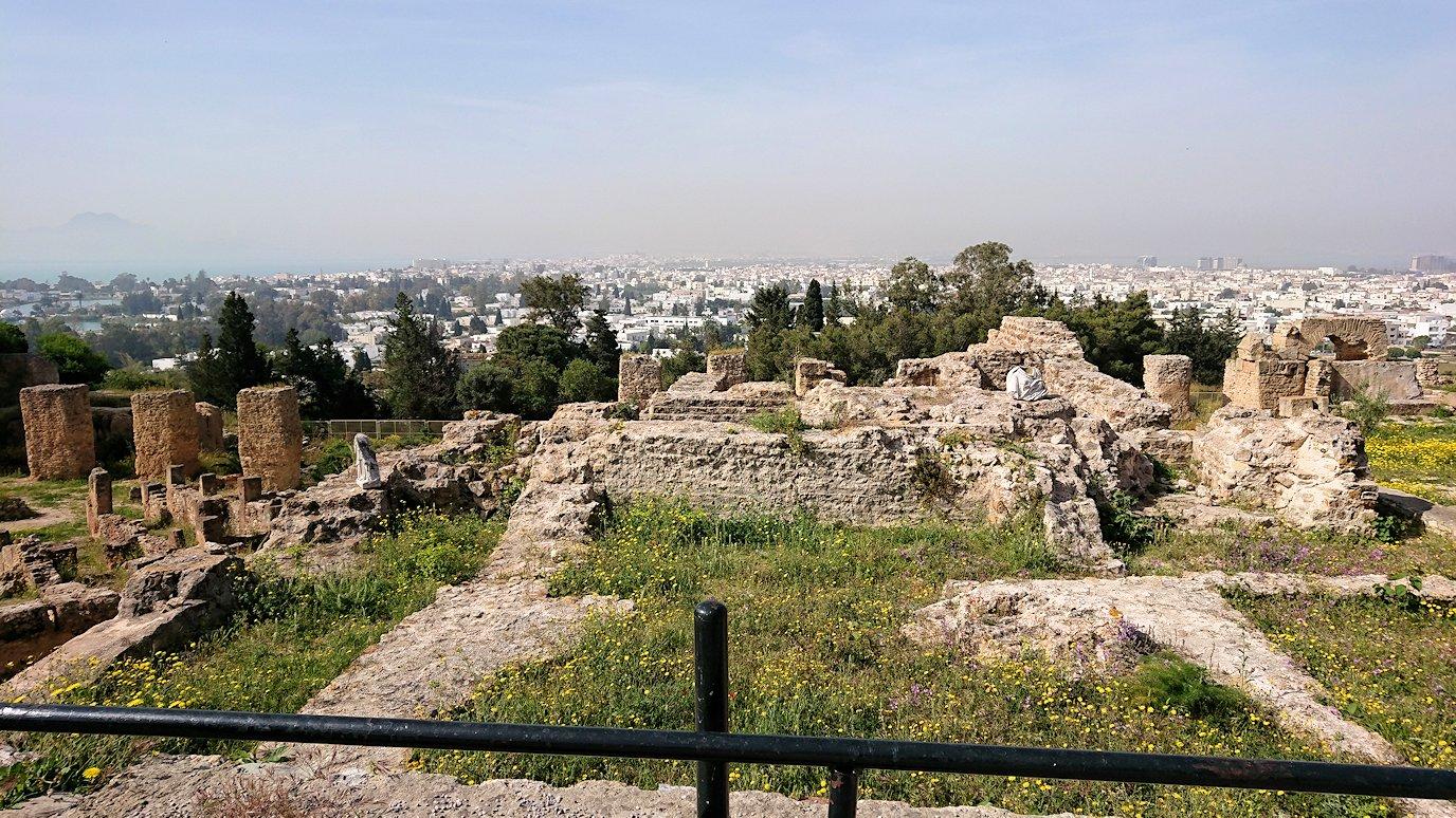 チュニジア:カルタゴ遺跡のビュルサの丘を堪能する7