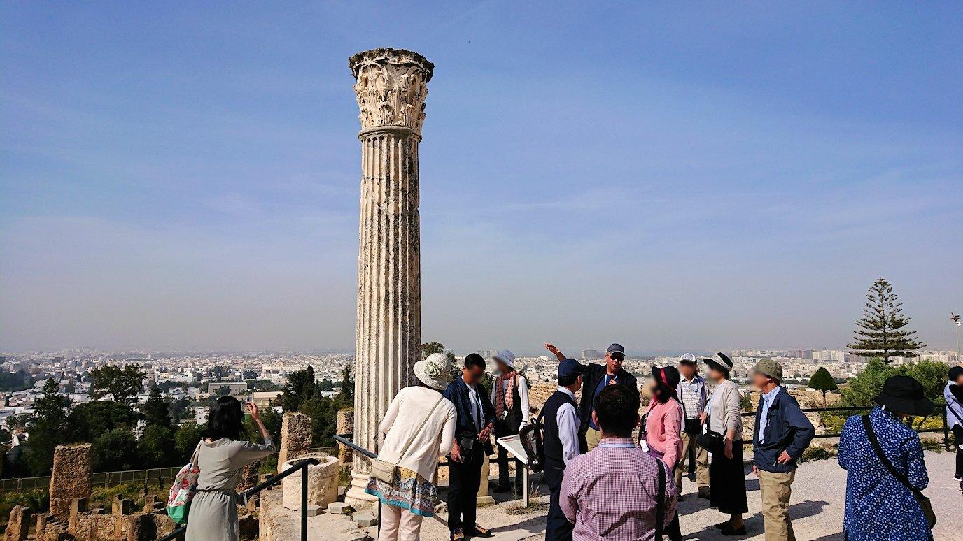 チュニジア:カルタゴ遺跡のビュルサの丘を堪能する9