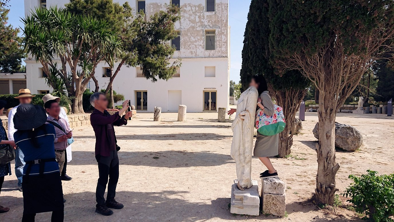 チュニジア:カルタゴ遺跡のビュルサの丘を散策する1