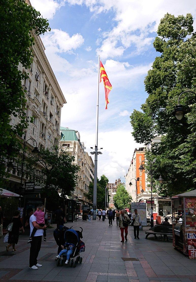 北マケドニアのスコピエ市内にあるマザーテレサ記念館の見学が終了する6