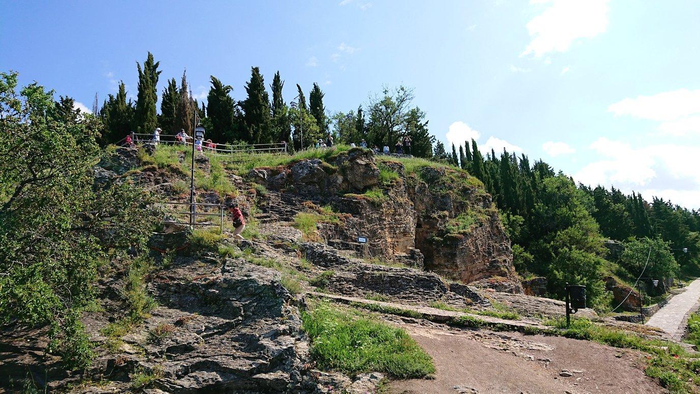 北マケドニアのオフリドで聖ヨハネ・カネオ教会付近を散策5