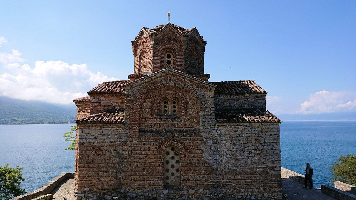 北マケドニアのオフリドで聖ヨハネ・カネオ教会付近を散策6