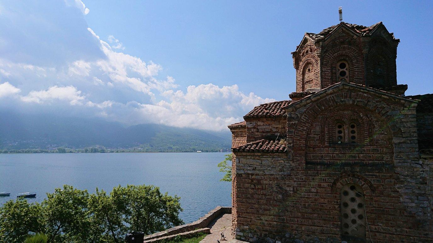 北マケドニアのオフリドで聖ヨハネ・カネオ教会付近を散策7