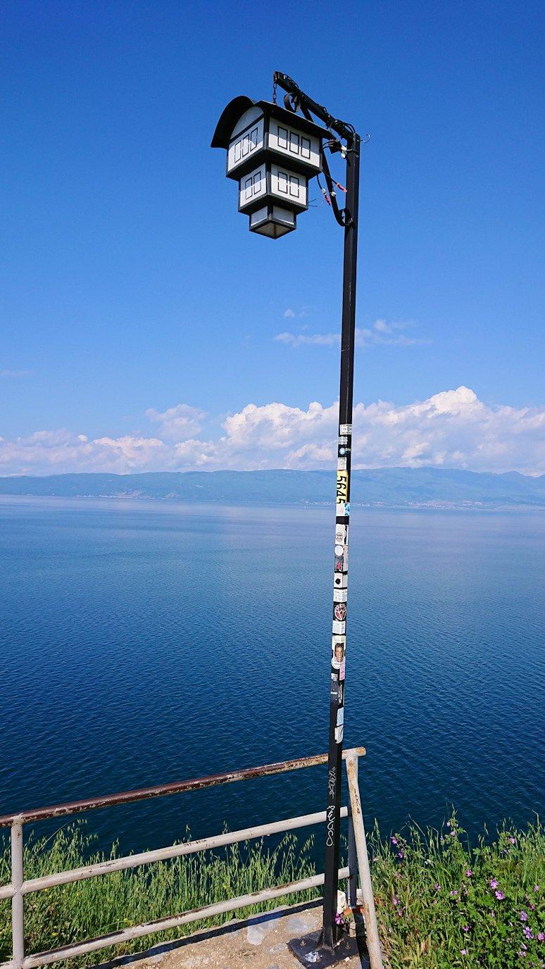 北マケドニアのオフリドで聖ヨハネ・カネオ教会付近を散策8