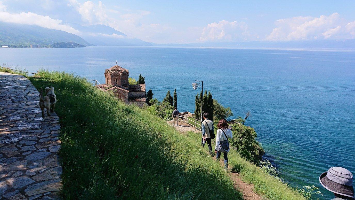 北マケドニアのオフリドで聖ヨハネ・カネオ教会付近を散策してみる7