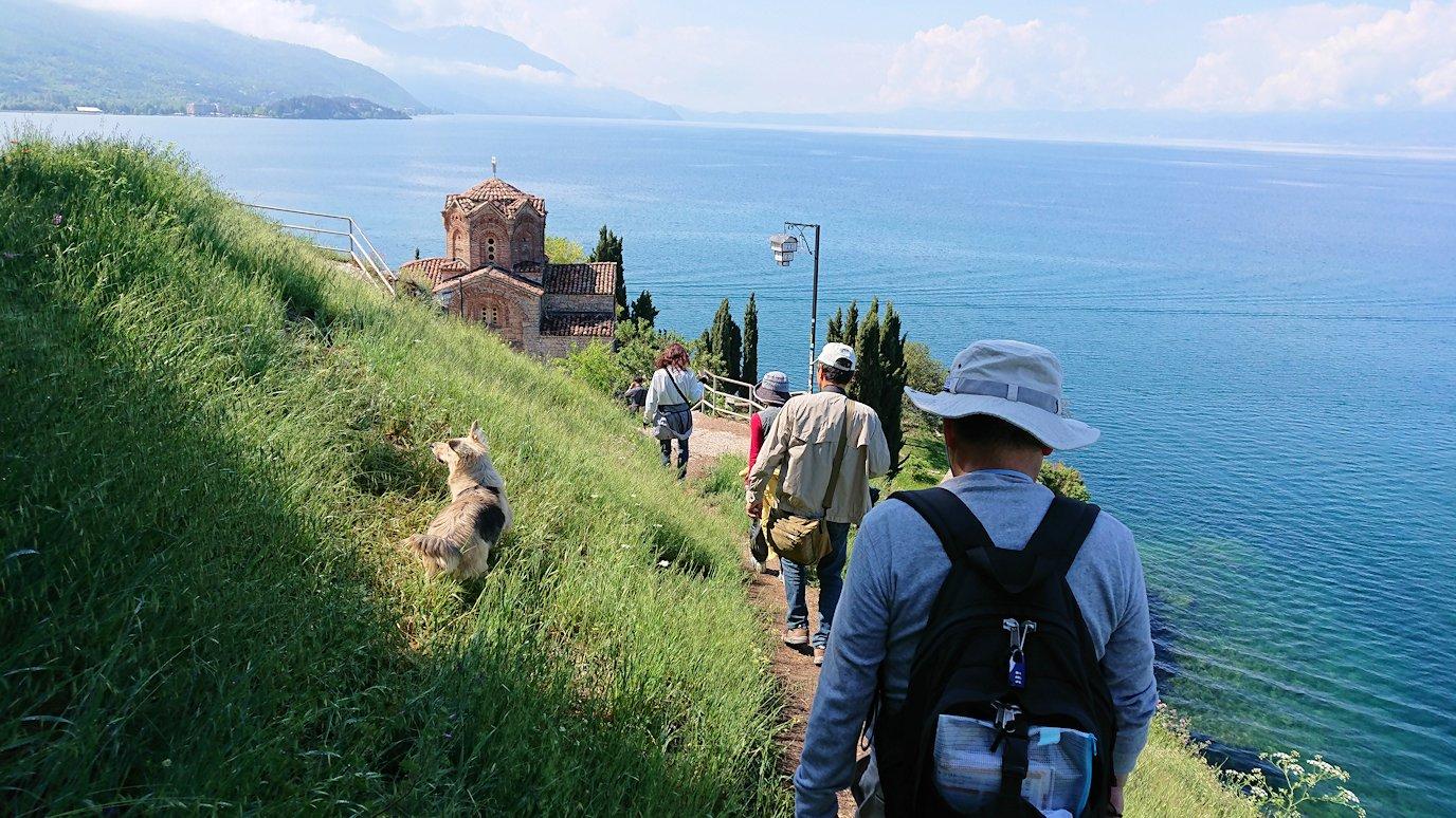 北マケドニアのオフリドで聖ヨハネ・カネオ教会付近を散策してみる8