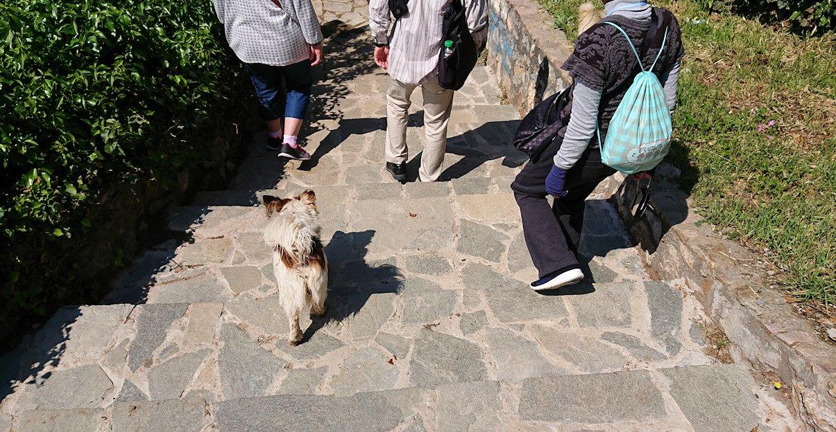 北マケドニアのオフリドで聖ヨハネ・カネオ教会からまた歩いていく4
