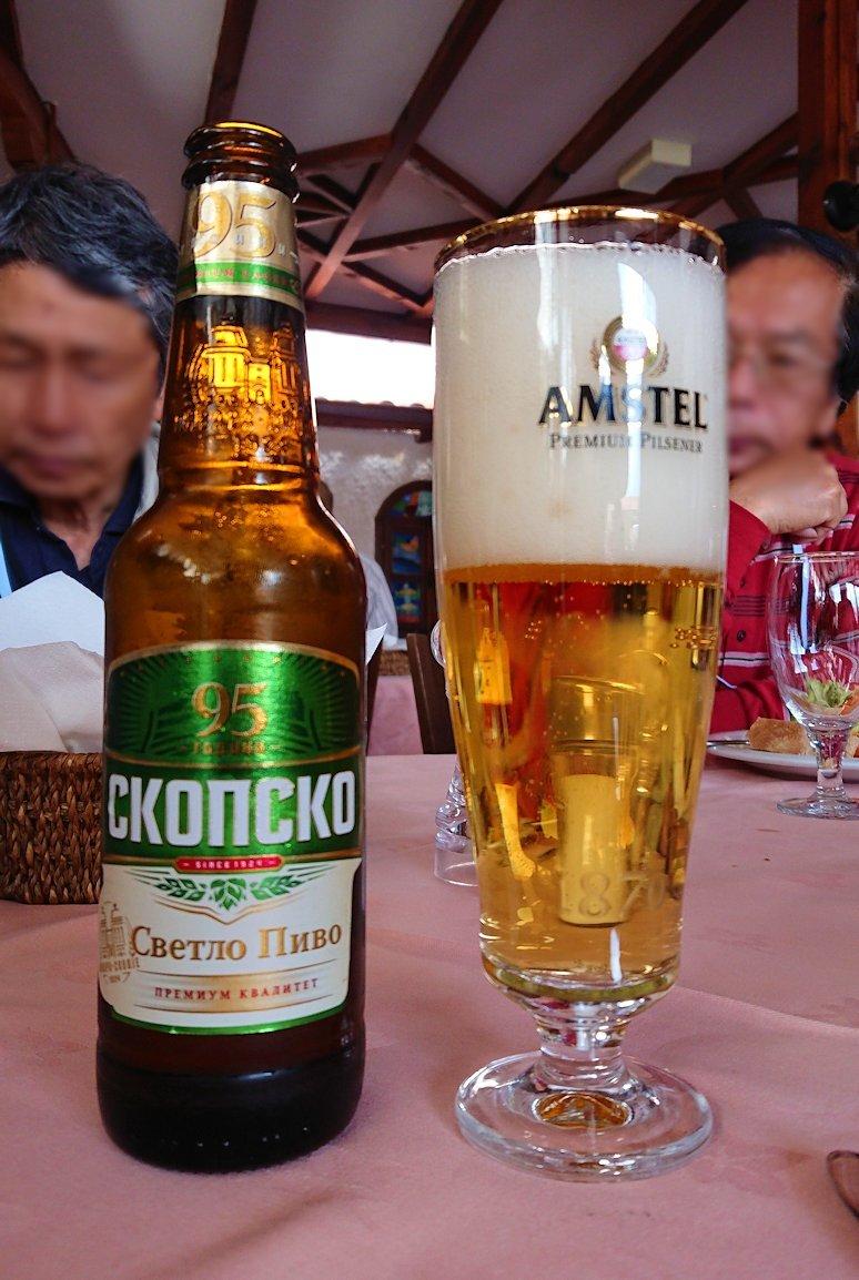 北マケドニアのオフリドのレストランにて8