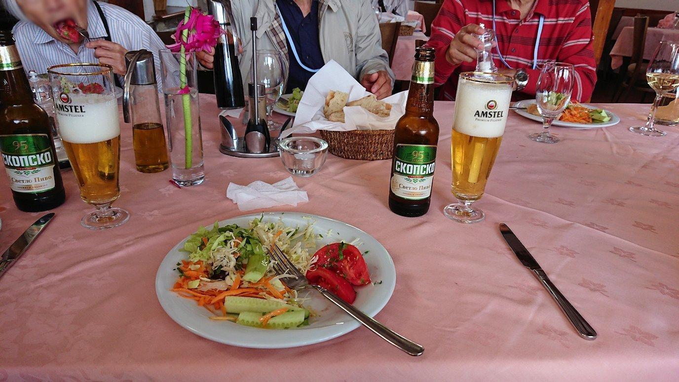 北マケドニアのオフリドのレストランにて9