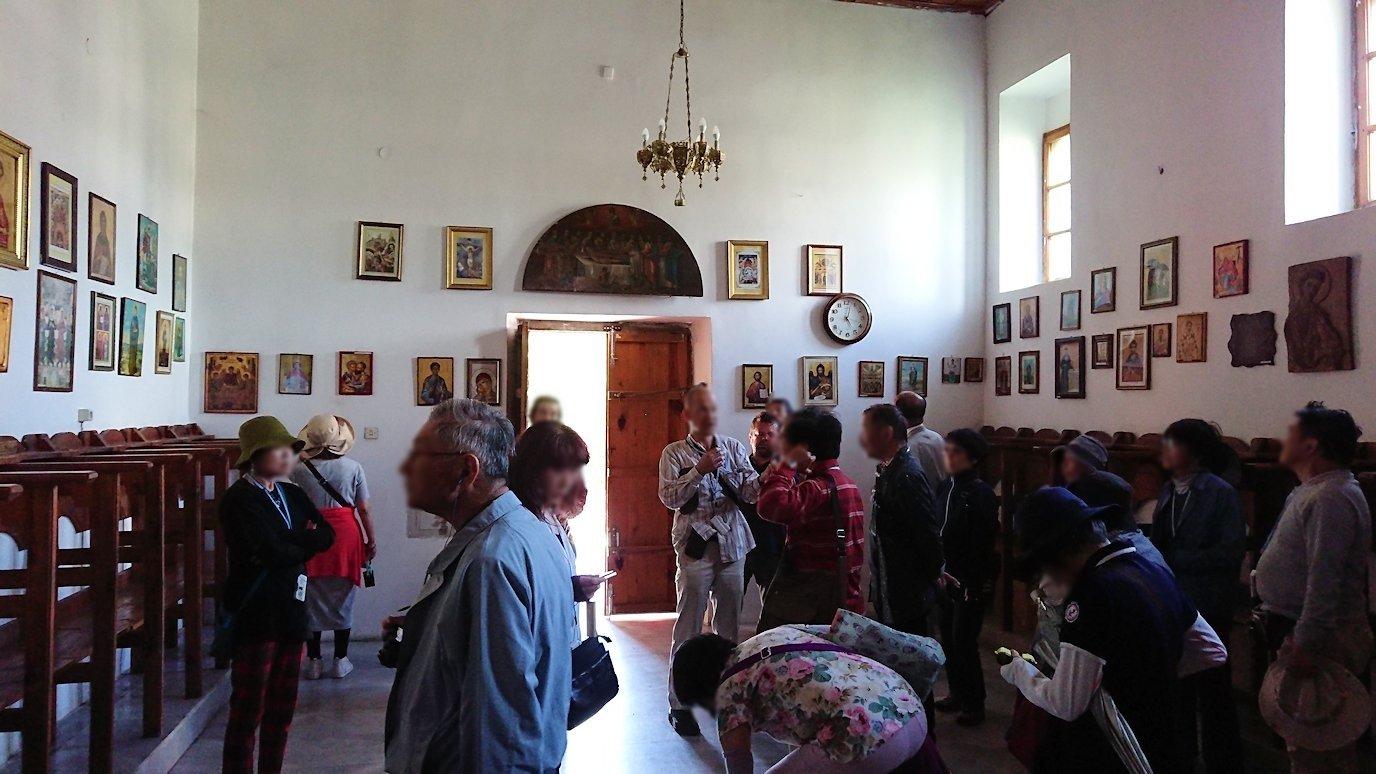 アルバニアで世界遺産のベラトの街でゴリツァ地区にある聖トマス教会を訪問4