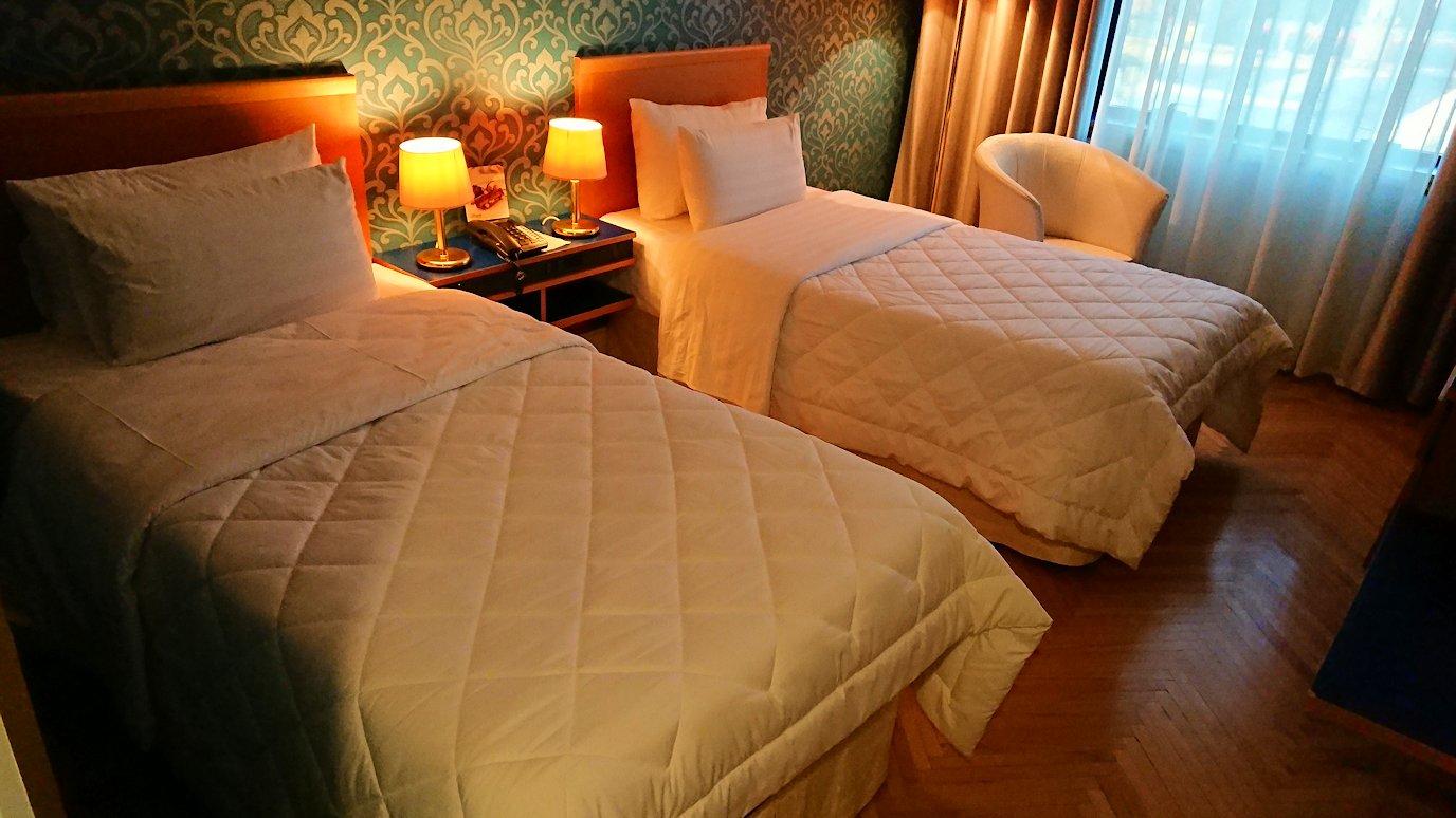 アルバニアで首都ティラナのホテル・インターナショナルの部屋の様子は??2