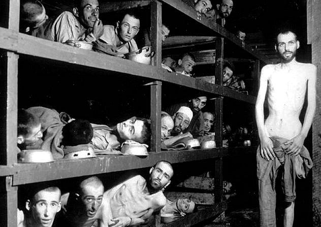 アウシュビッツ強制収容所での当時の景色