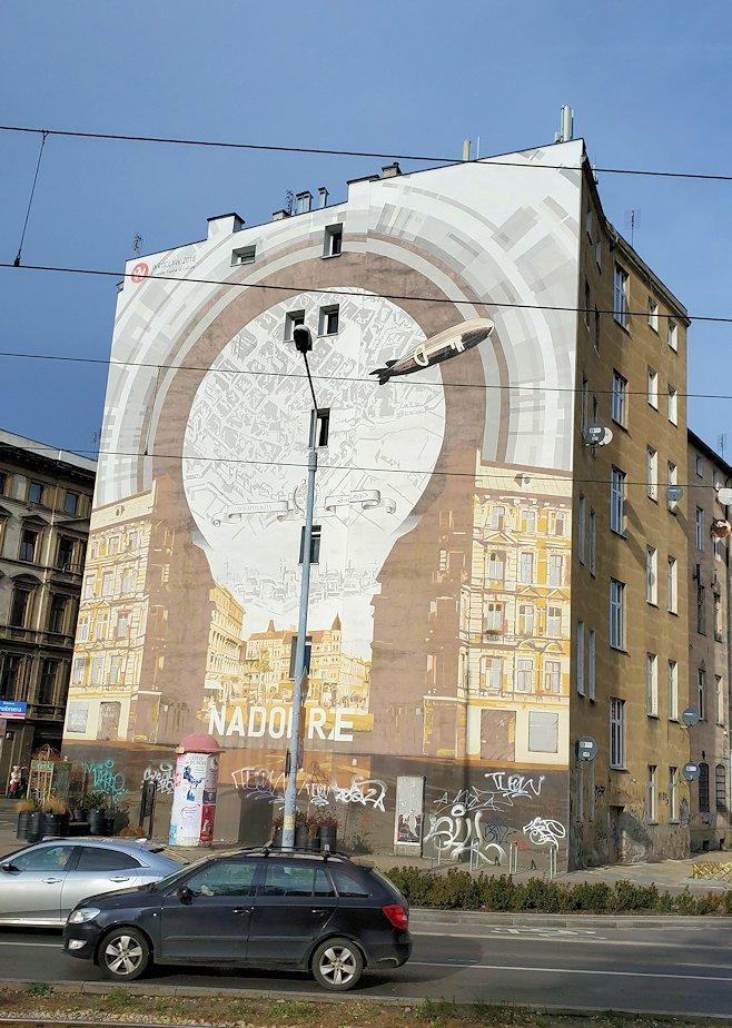 ヴロツワフの街並み