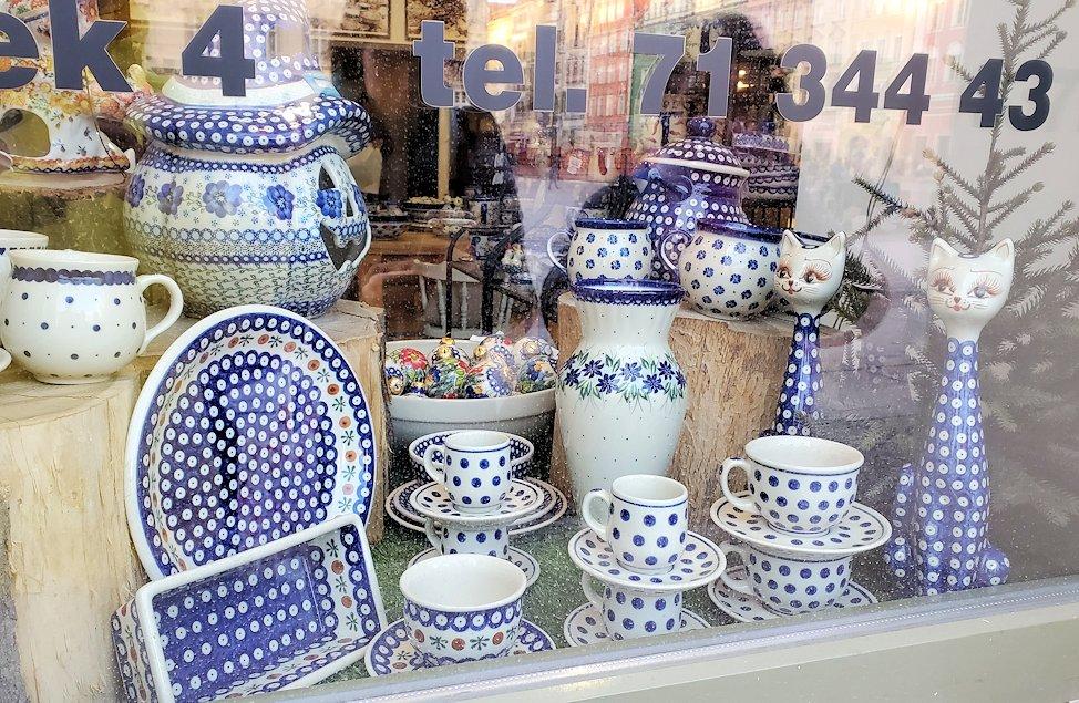 ポーランドで人気のボレスワヴィエツのお店