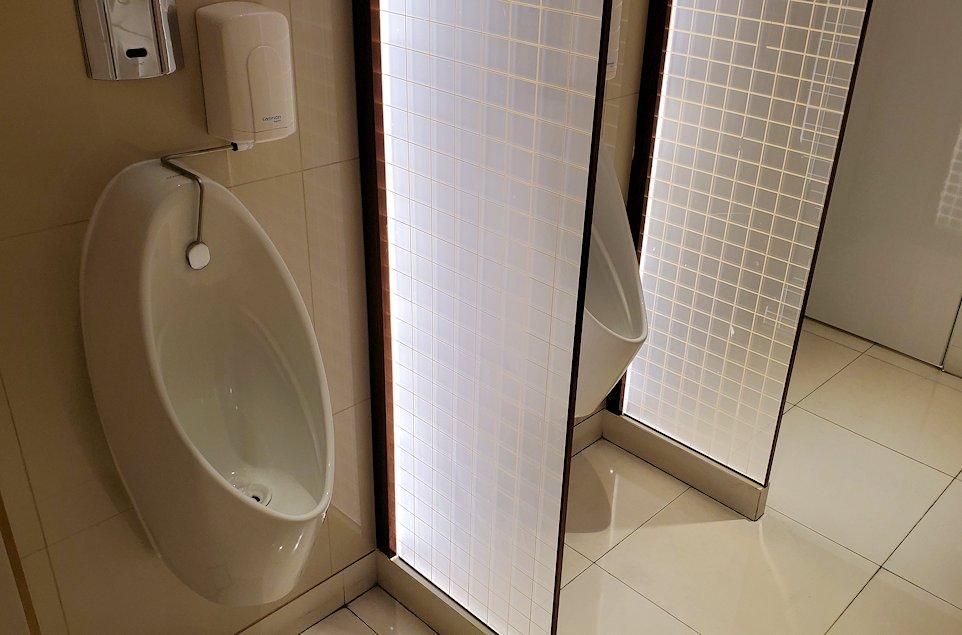 キングパワー・マハナコーンビルのトイレ