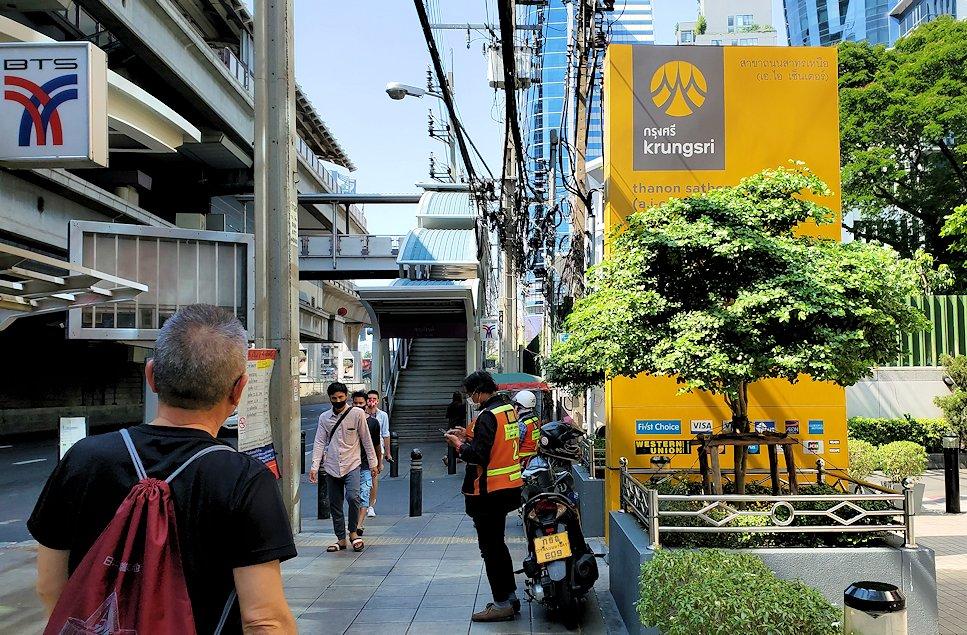 バンコク市内を歩いた