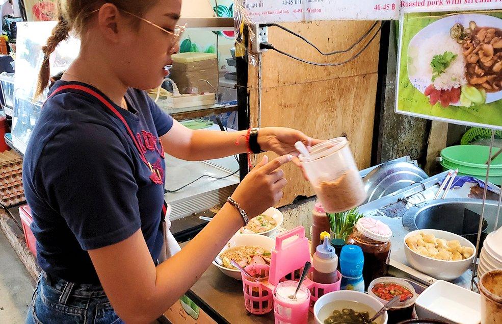 バンコク市内にあるフードコートにあるお店-2