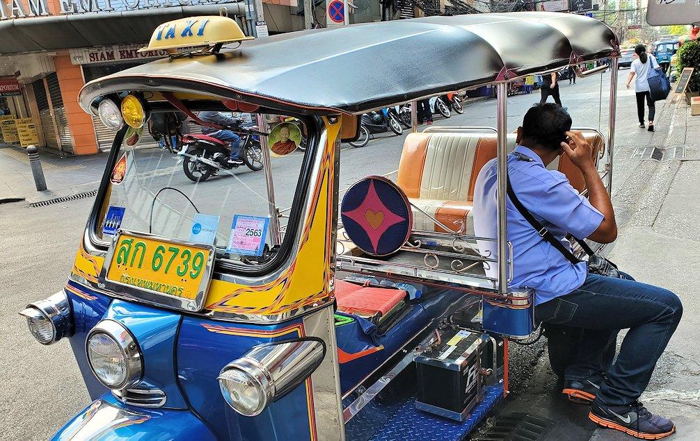 バンコク市内に多いトゥクトゥク