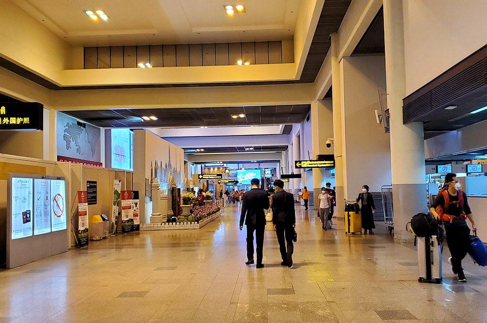ドンムアン空港内の様子