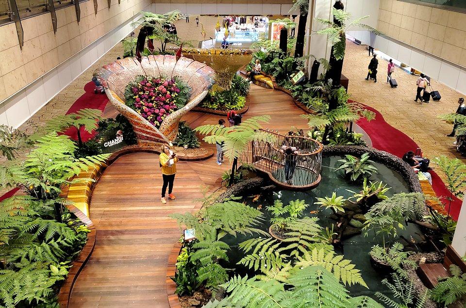 シンガポールのチャンギ空港内をブラつく-3