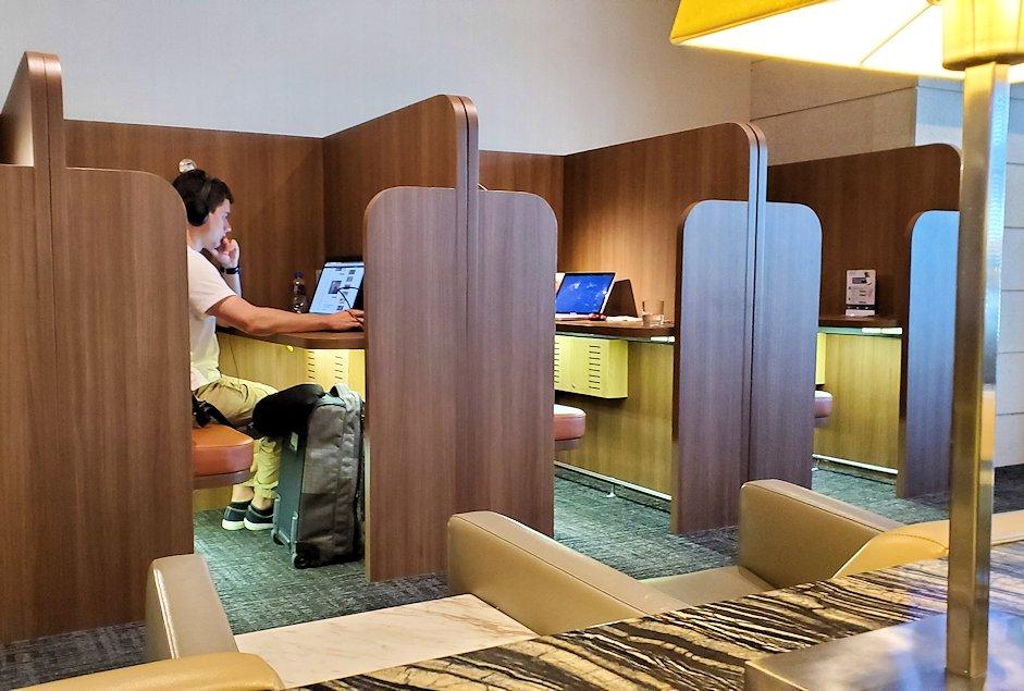 シンガポールのチャンギ空港内にあるラウンジ「SATS Premier Lounge」の雰囲気-2