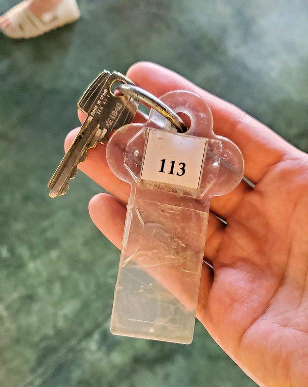 「カサッパ ライオンズ ロック」ホテルの部屋の鍵