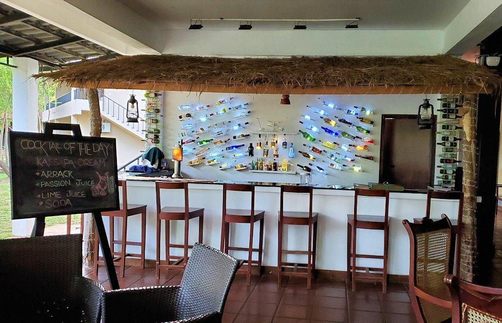 「カサッパ ライオンズ ロック」ホテルにあるバー