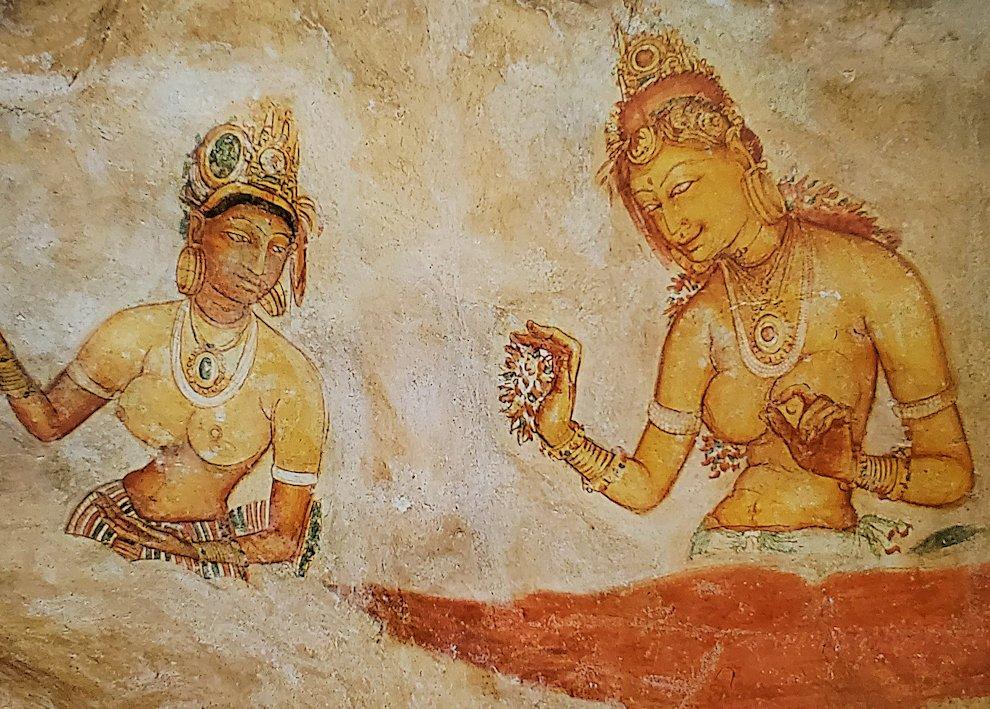 シギリヤレディーの壁画