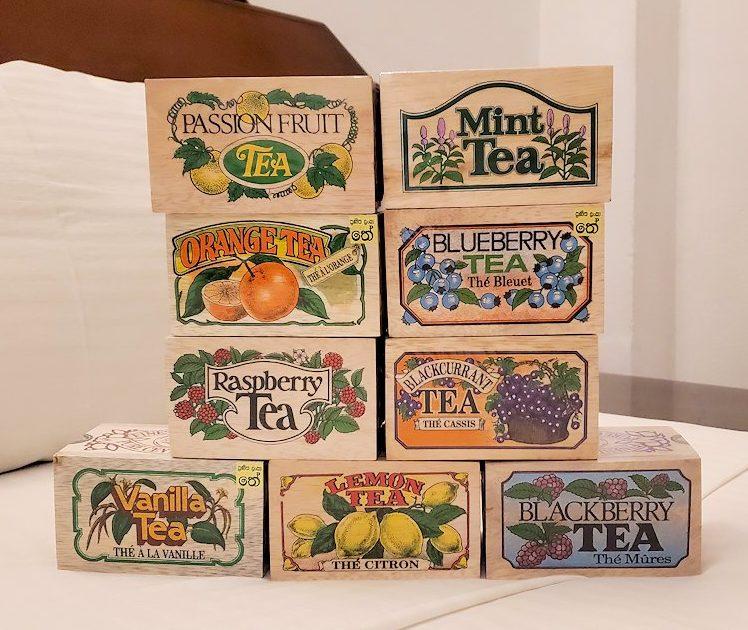 キャンディのスーパーマーケットで購入したセイロン紅茶のお土産