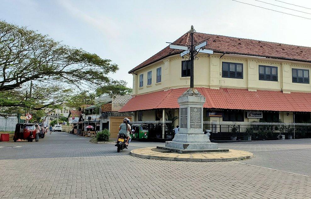 スリランカ:ゴールの旧市街地-2