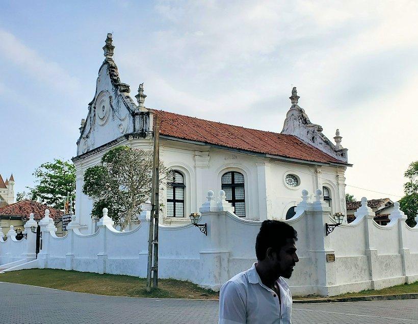 スリランカ:ゴールの旧市街地にあるオランダ教会跡