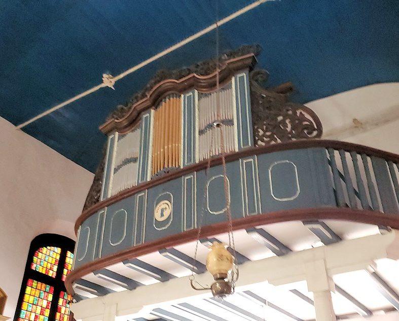スリランカ:ゴールの旧市街地にあるオランダ教会にあるパイプオルガン