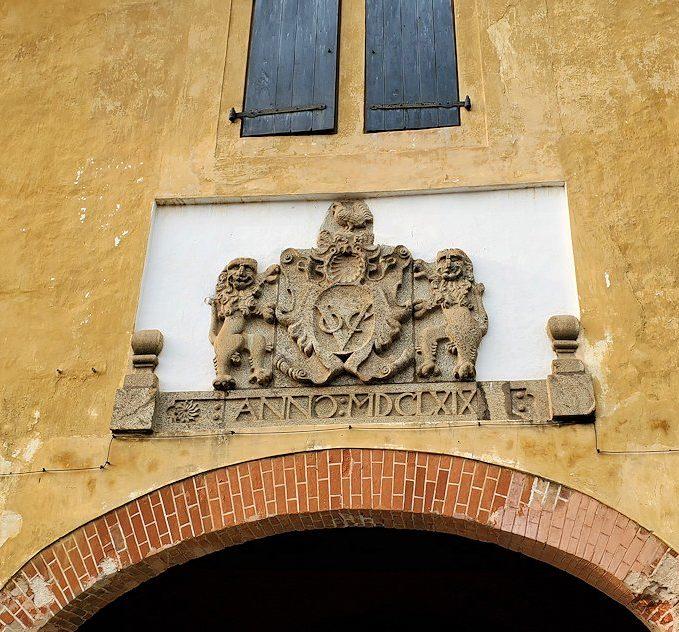 ゴールの旧市街地にあった旧オランダ東インド会社の跡-3