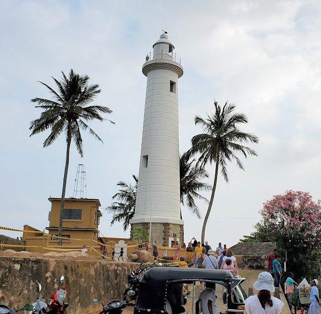 ゴールの旧市街地で見かけた灯台