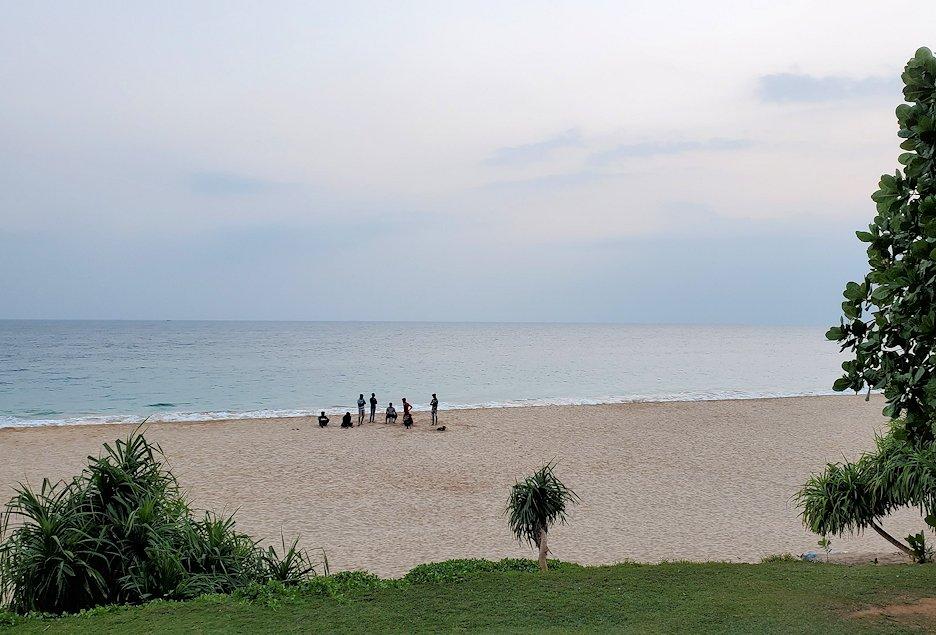 ゴールの街にある【ホテル】ザ・ロング・ビーチ・リゾートから行けるビーチ