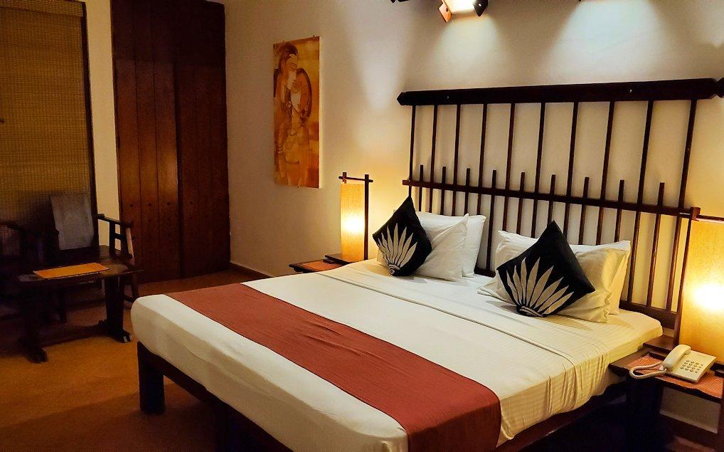 ゴールの街にある【ホテル】ザ・ロング・ビーチ・リゾートの部屋の内装