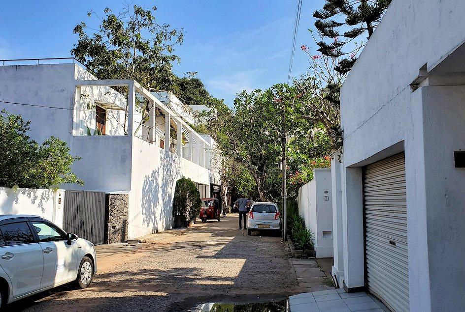ジェフリー・バワの住んでいた高級住宅街