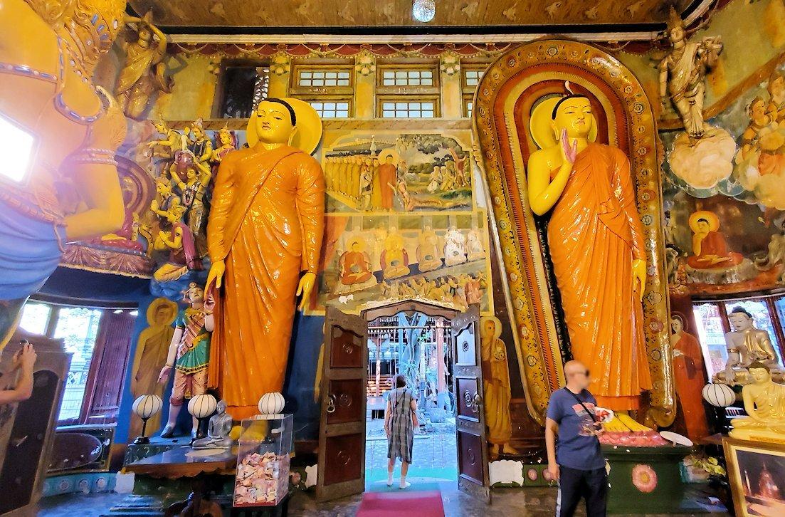 ガンガラーマ寺院の本堂内の景色-3