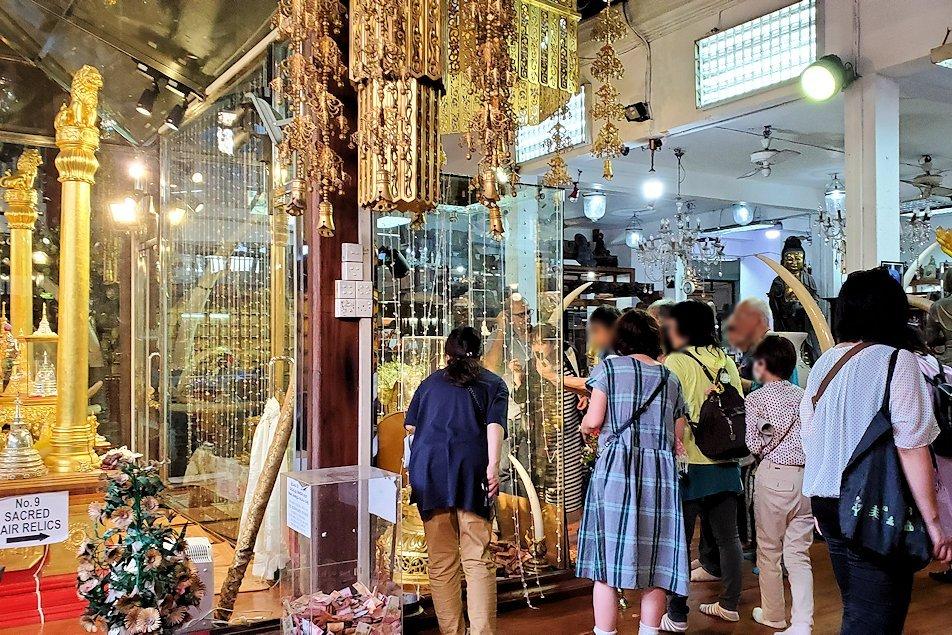 ガンガラーマ寺院敷地内にある博物館