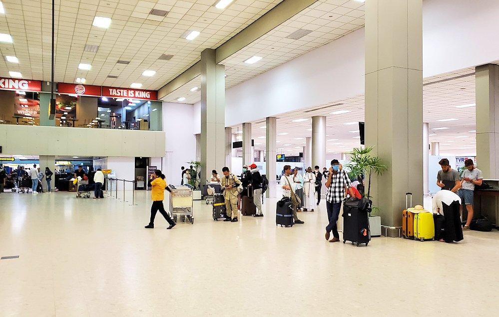 バンダラナイケ国際空港内の景色