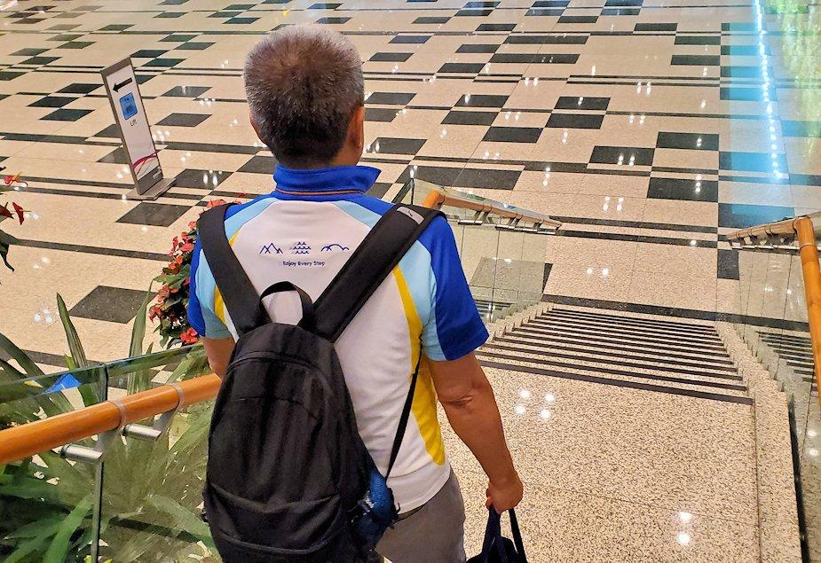 チャンギ空港の無料ツアーに参加
