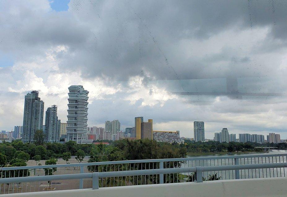 シンガポール市内の景色