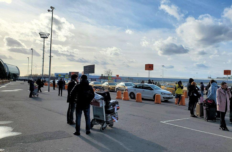 ドモジェドヴォ空港周辺の景色