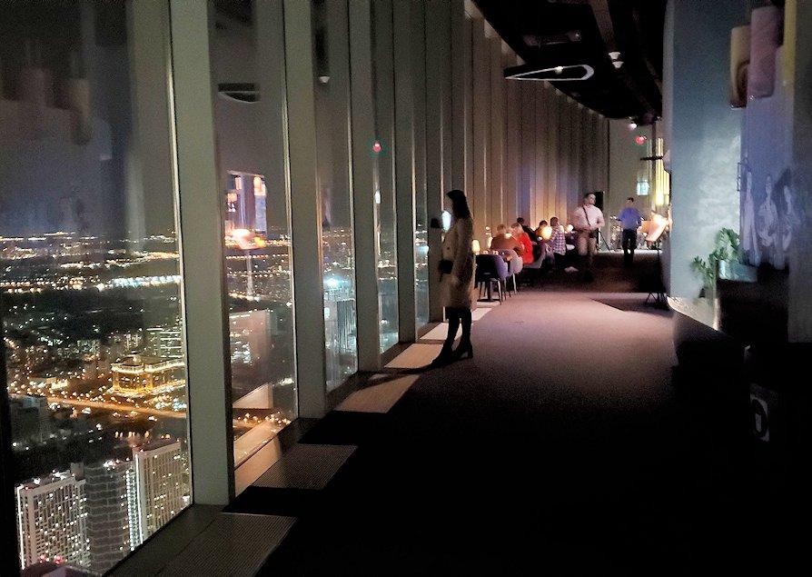 フェデレーションタワーの展望台の廊下