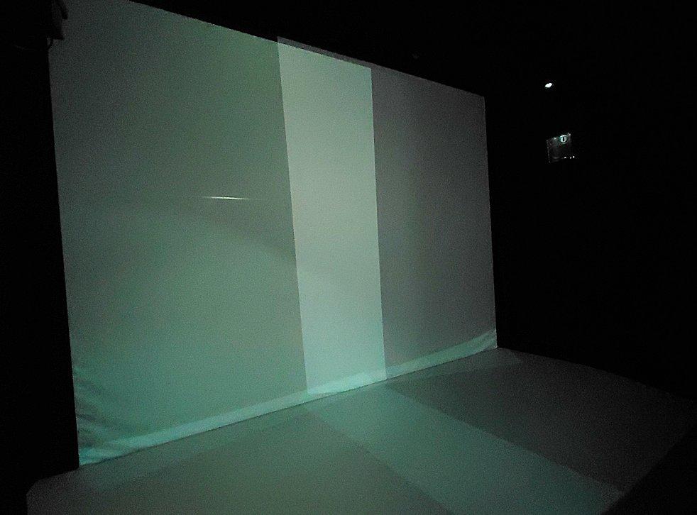 フェデレーションタワーの展望台にあるアニメーションルームに入る
