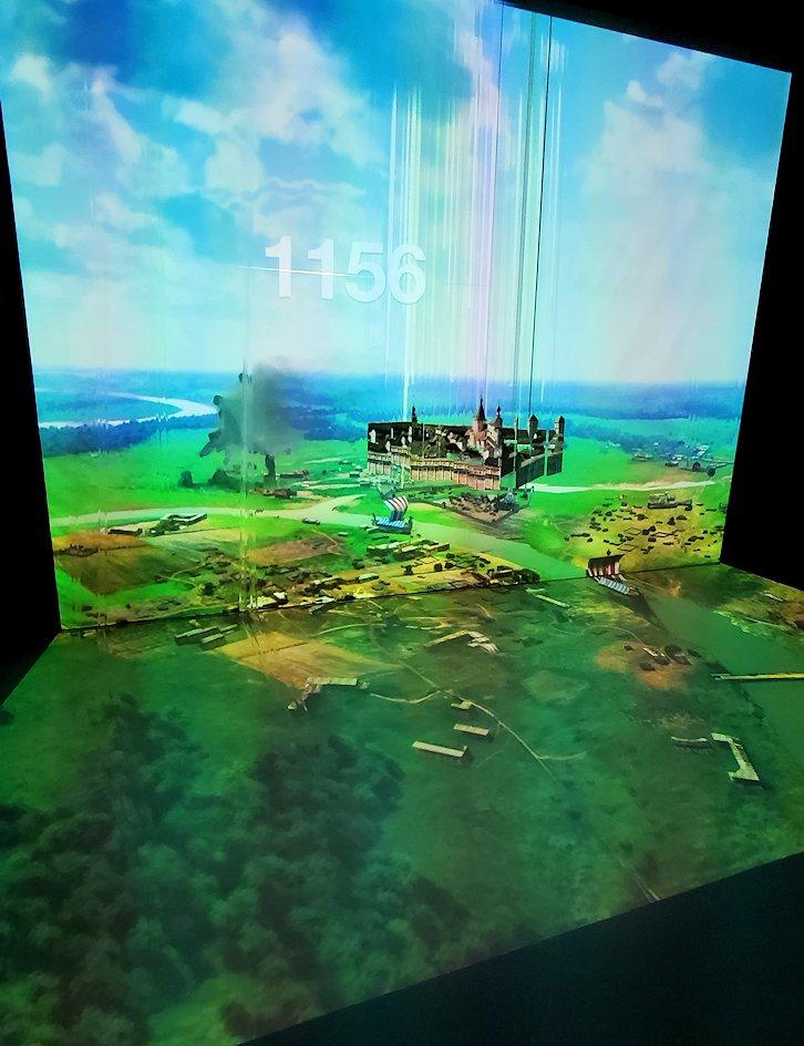 フェデレーションタワーの展望台にあるアニメーションルームの景色-2